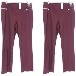 NWT New York & Co. 7th Avenue Design Pull-On Pants